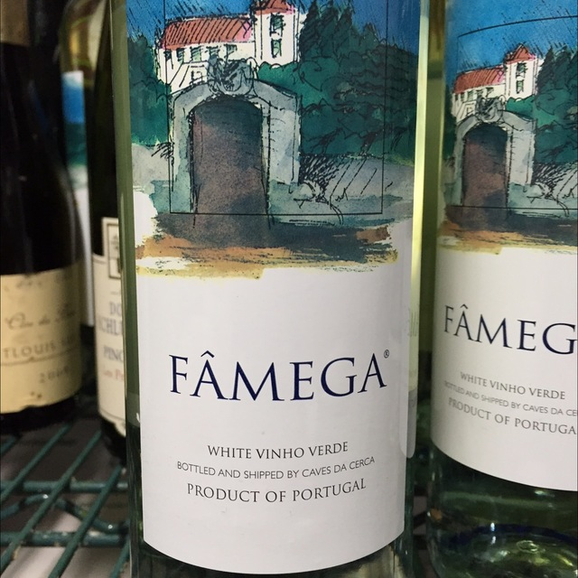 Fâmega Vinho Verde Albariño 2014