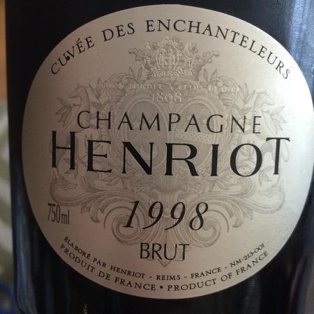 Henriot Cuvée des Enchanteleurs Brut Champagne Blend 1998