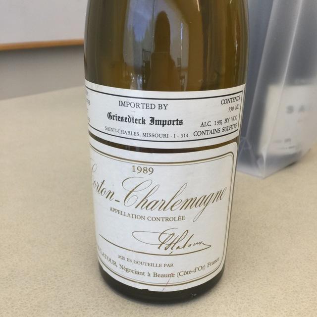 Corton-Charlemagne Chardonnay NV