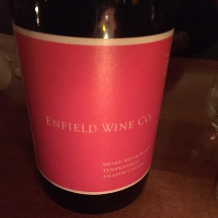 Enfield Wine Co. Shake Ridge Ranch Tempranillo 2013