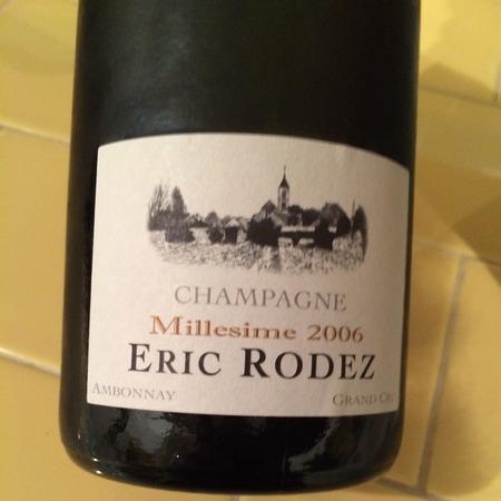 Eric Rodez Grand Cru Millésimé Champagne 2006