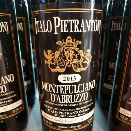 Italo Pietrantonj Montepulciano d'Abruzzo  2013