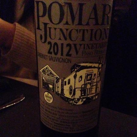 Pomar Junction Vineyard Paso Robles Cabernet Sauvignon 2012