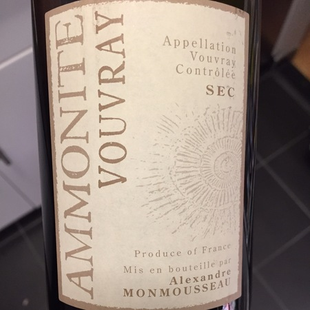 Monmousseau Ammonite Vouvray Sec Chenin Blanc 2014