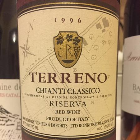 Terreno Riserva Chianti Classico Sangiovese Blend 1996