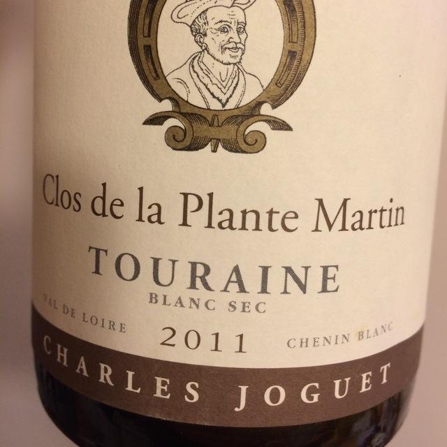 Clos de la Plante Martin Touraine Chenin Blanc 2011