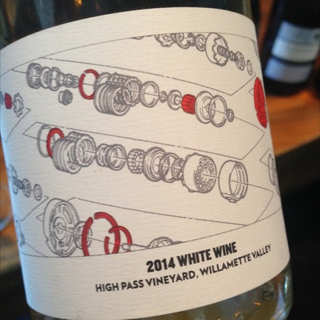 Teutonic Wine Company Sprockets High Pass Vineyard Scheurebe Blend 2015
