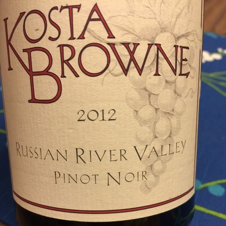 Kosta Browne Russian River Valley Pinot Noir 2015