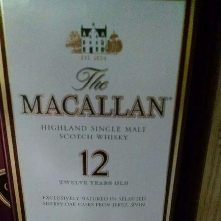 Macallan Distillery 12 Years Old Sherry Oak Casks Single Malt Scotch Whisky NV
