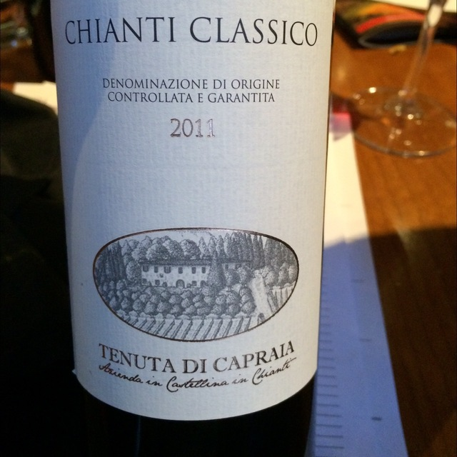 Chianti Classico Sangiovese 2011