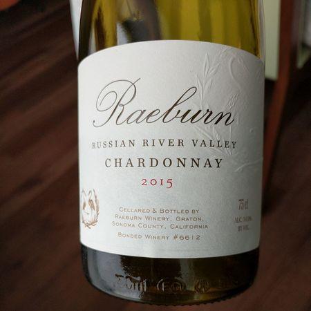 Raeburn Winery Russian River Valley Chardonnay 2015