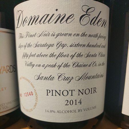 Mount Eden Vineyards Domaine Eden Santa Cruz Mountains Pinot Noir 2013