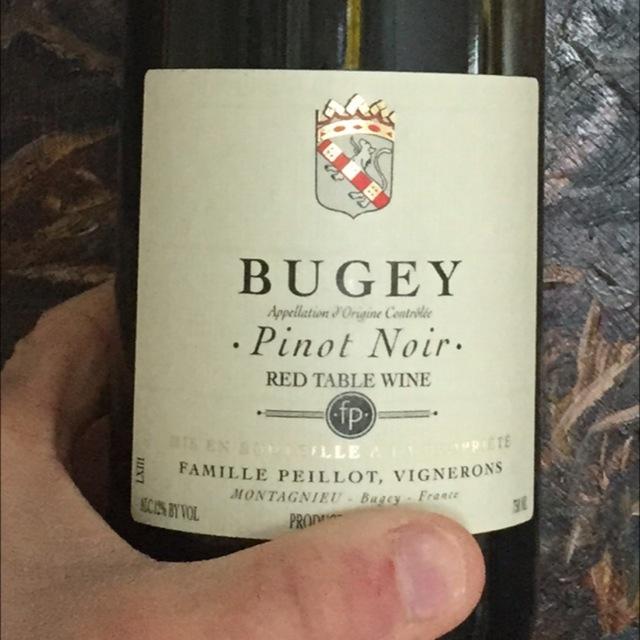 Bugey Pinot  Noir 2013