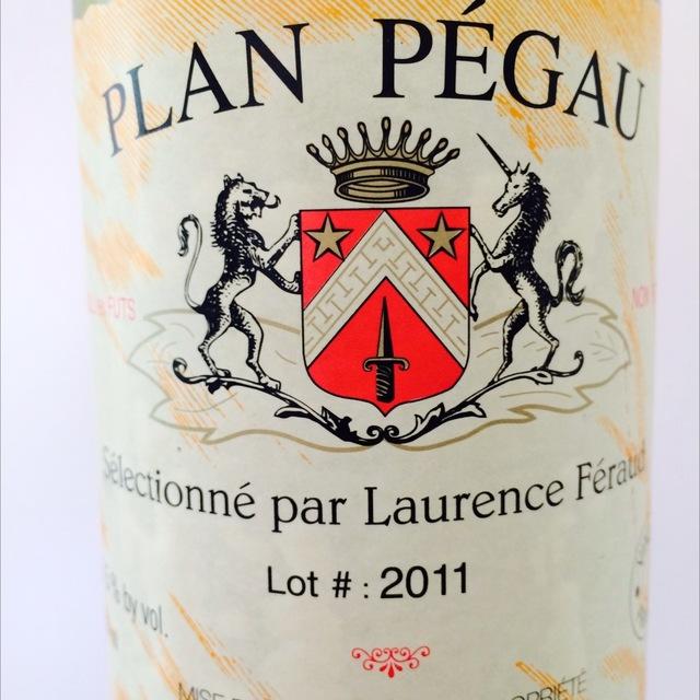 Plan Pegau Vin de France Red Rhone Blend NV