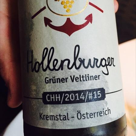 Christoph Hoch Hollenburger Kremstal Grüner Veltliner 2015