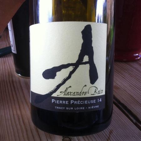 Domaine Alexandre Bain Pierre Précieuse Pouilly-Fumé Sauvignon Blanc 2014