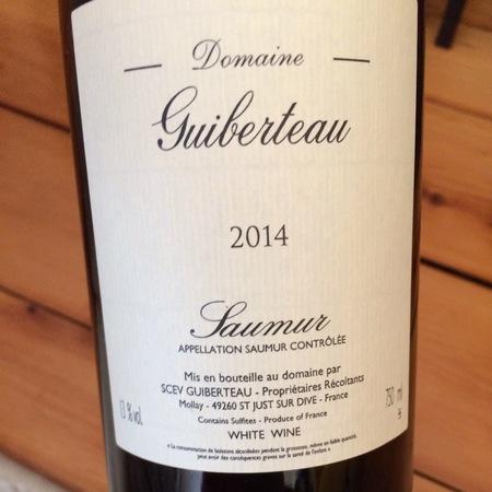 Domaine Guiberteau Saumur Chenin Blanc 2014 (1500ml)