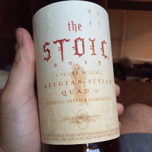 The Stoic Quadrupel Ale NV