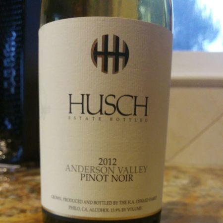 Husch Vineyards Anderson Valley Pinot Noir  2015