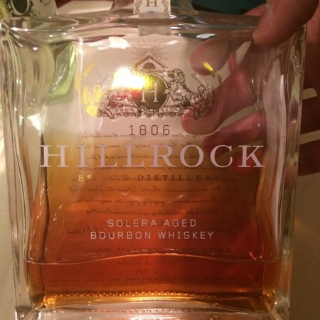Hillrock Estate Distillery Solera Aged Bourbon Whiskey NV