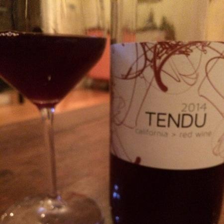 Matthiasson Tendu California Red Blend 2014