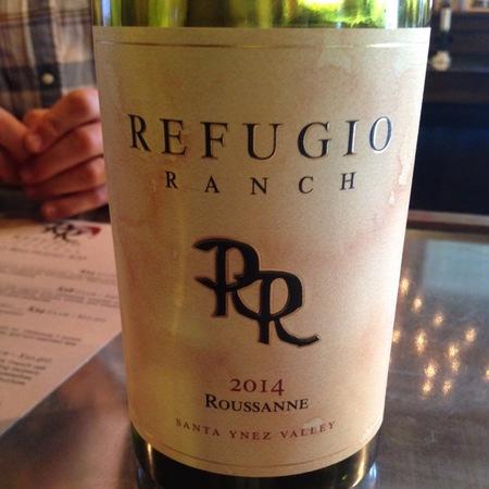 Refugio Ranch Santa Ynez Valley Roussanne 2015
