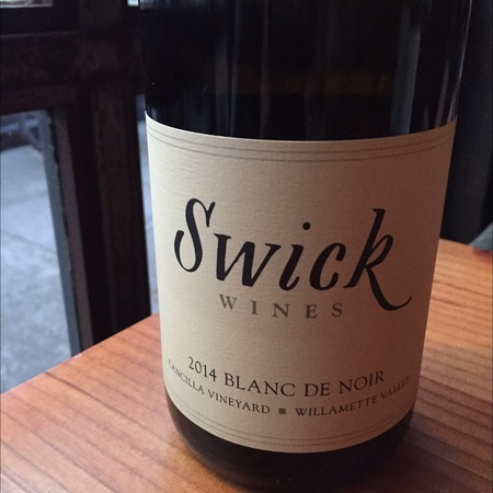 Swick Wines Cancilla Vineyard Blanc de Noir 2016