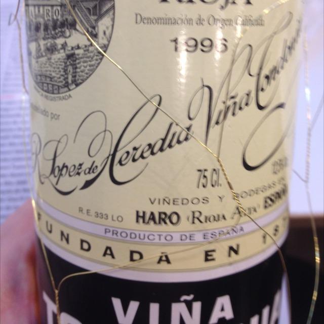 Viña Tondonia Gran Reserva Rioja Blanco Malvasia Viura 1996