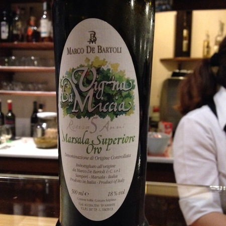 Marco De Bartoli Vigna La Miccia Marsala Superiore Oro Grillo NV (500ml)