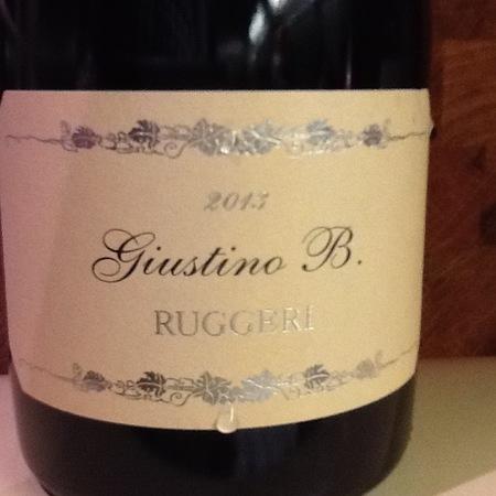 Ruggeri Extra Dry Giustino B. Prosecco di Valdobbiadene Prosecco 2013