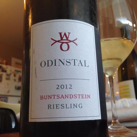 Odinstal Buntsandstein Pfalz Riesling 2012