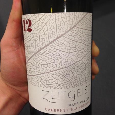 Zeitgeist Cellars Napa Valley Cabernet Sauvignon 2014 (750ml 12bottle)