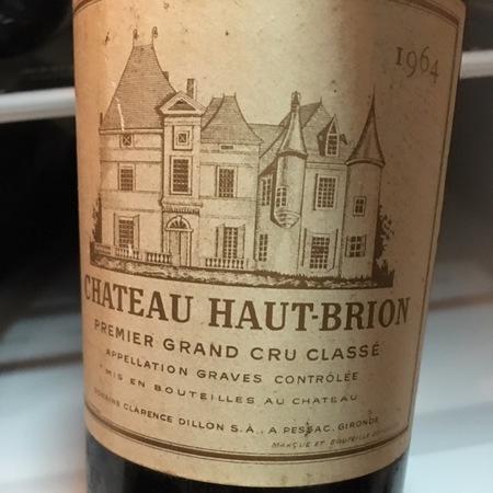 Château Haut-Brion Graves Red Bordeaux Blend 1982