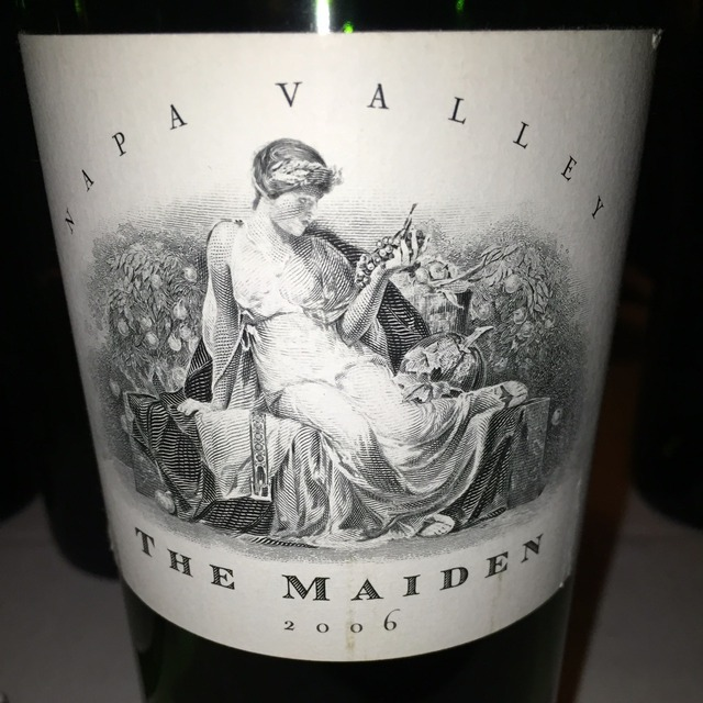 The Maiden Napa Valley Red Bordeaux Blend 2006