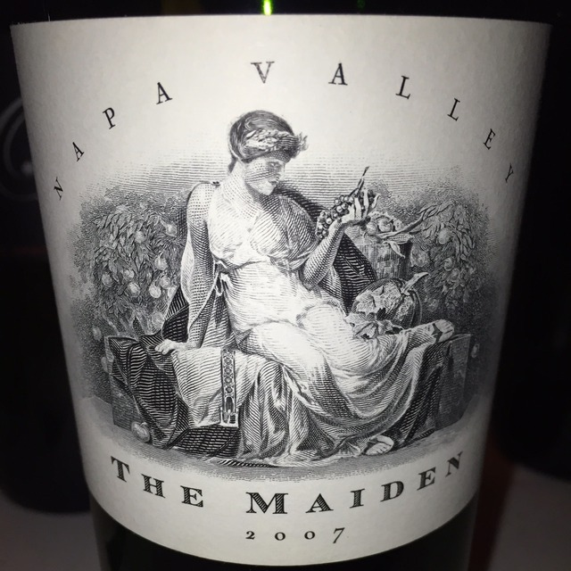 The Maiden Napa Valley Red Bordeaux Blend 2007