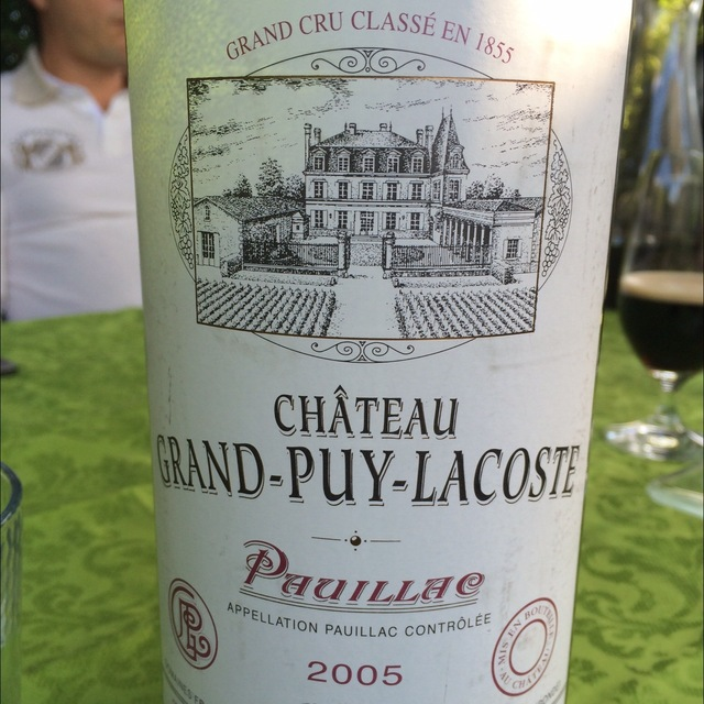 Pauillac Red Bordeaux Blend 2005