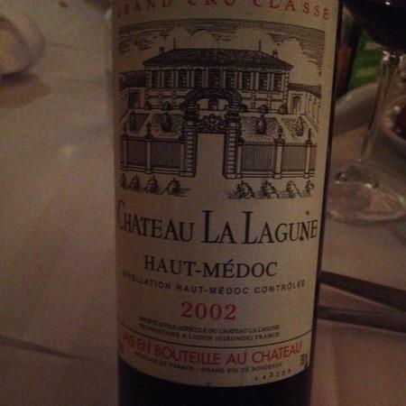 Château La Lagune Haut-Médoc Red Bordeaux Blend 2002