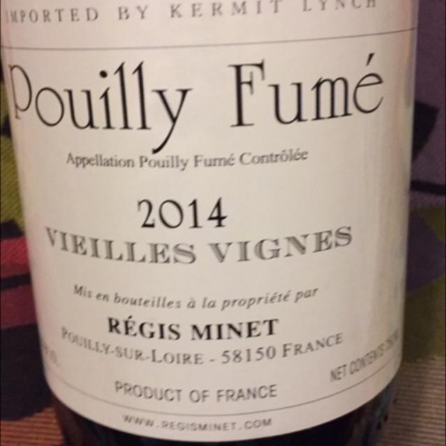 Vieilles Vignes Pouilly-Fumé Sauvignon Blanc 2014