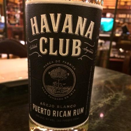 Havana Club Añejo Blanco Puerto Rican Rum  NV