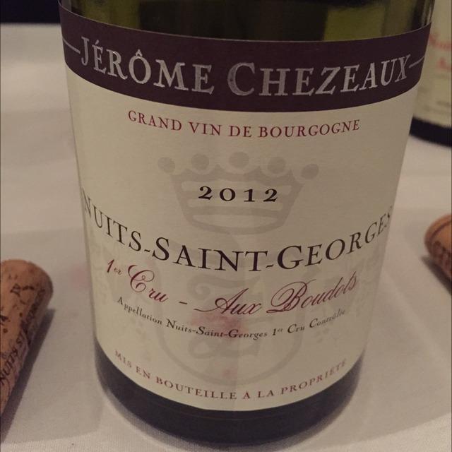 Aux Boudots Nuits-Saint-Georges 1er Cru Pinot Noir 2012