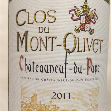 Clos du Mont-Olivet Le Petit Mont Châteauneuf-du-Pape Red Rhone Blend 2014