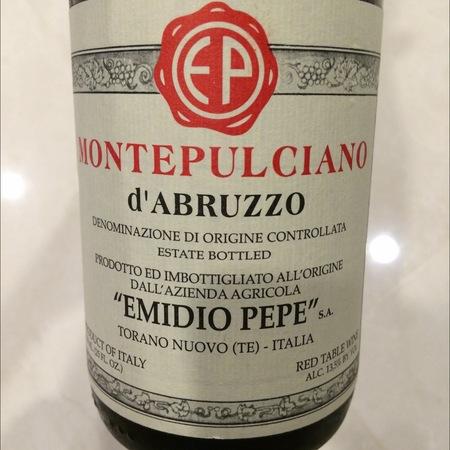 Emidio Pepe Montepulciano d'Abruzzo 1990