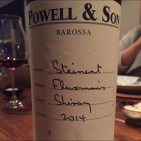 Riverside Vintners Powell & Son Barossa Shiraz 2014