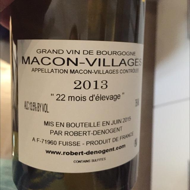 Mâcon-Villages Chardonnay 2013