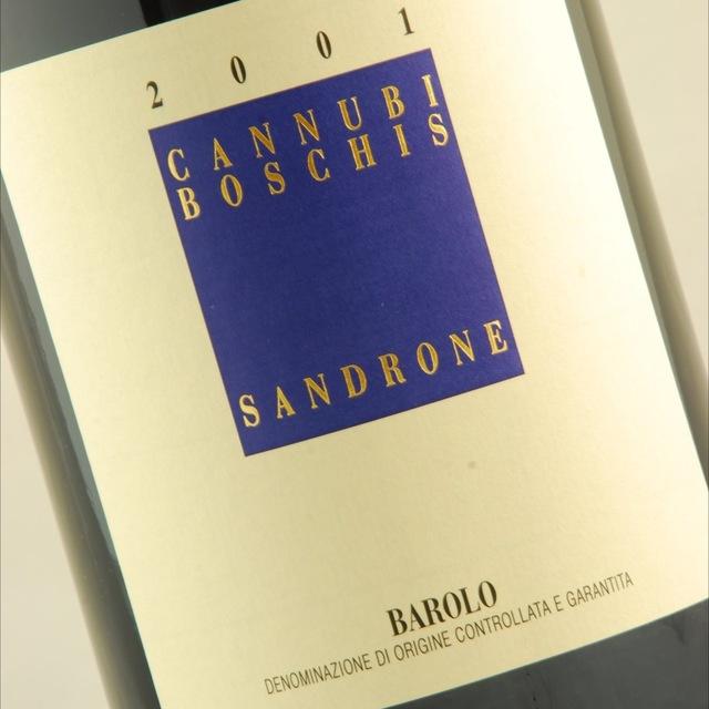 Cannubi Boschis Barolo Nebbiolo 2001 (1500ml)