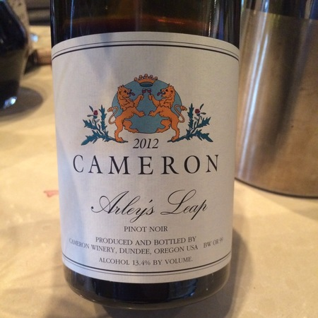 Cameron Winery Arley's Leap Pinot Noir 2014