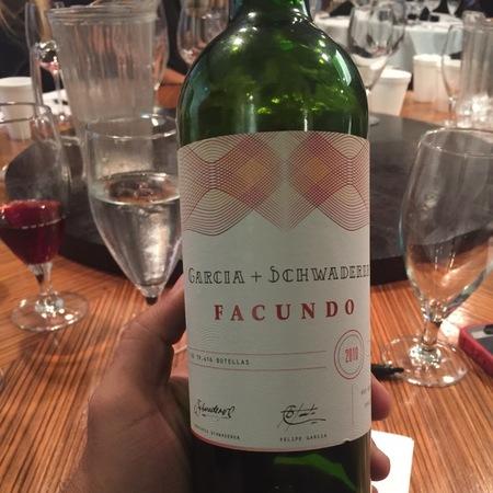 Garcia + Schwaderer Facundo Red Blend 2010