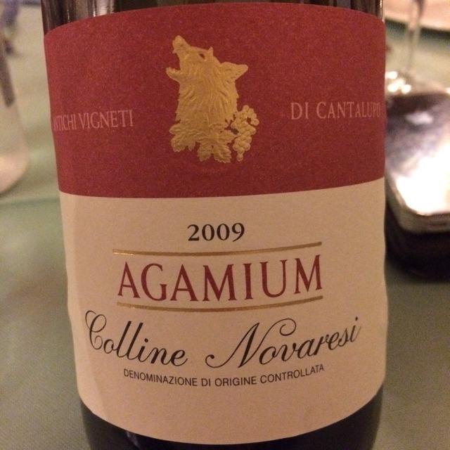 Agamium Colline Novaresi Nebbiolo 2009