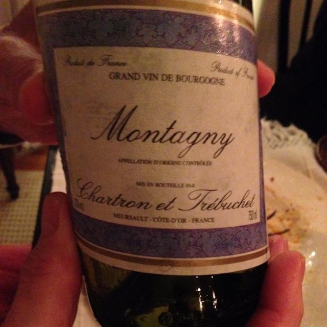 Montagny Chardonnay 2013