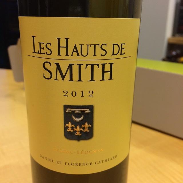 Les Hauts de Smith Pessac-Léognan White Bordeaux Blend 2012